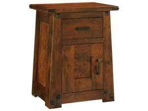 Encada One Drawer Nightstand