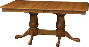 Estate Double Pedestal Dining Table