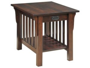 Graham Style End Table with Drawer