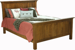 Granny Mission Wood Bed