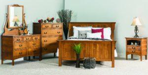 Amish Granny Mission Bedroom Set