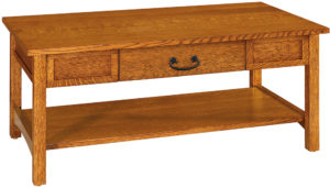 Granny Mission Hardwood Coffee Table