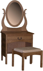 Granny Mission Dressing Table
