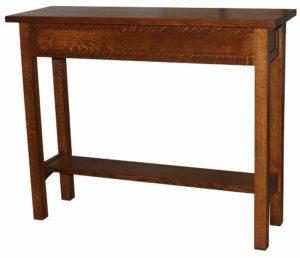 Granny Mission Hardwood Hall Table