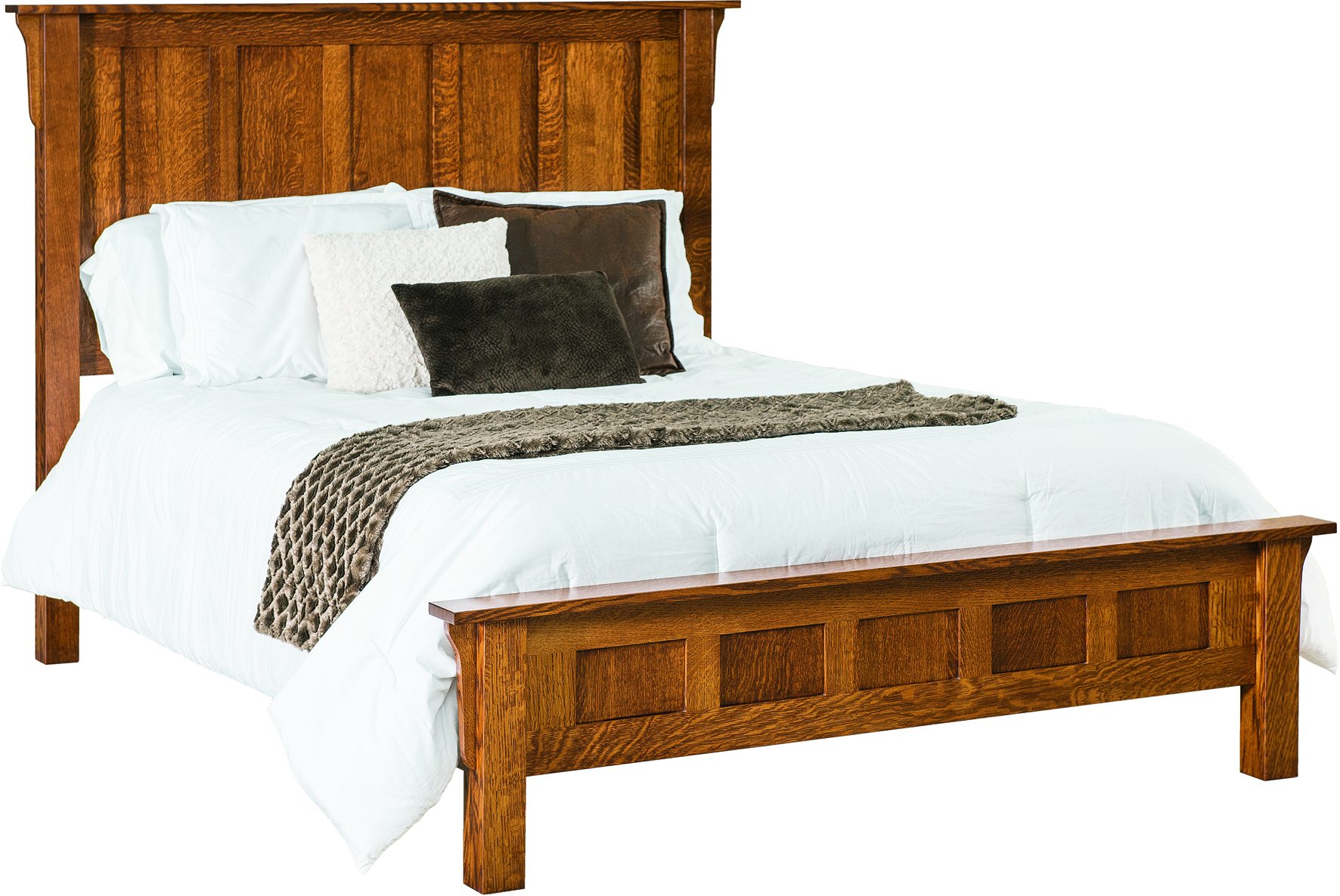 Granny Mission High Headboard Bed Granny Mission Wood Bed
