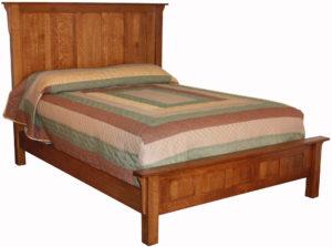 Granny Mission High Headboard Bed