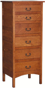 Granny Mission Hardwood Lingerie Chest