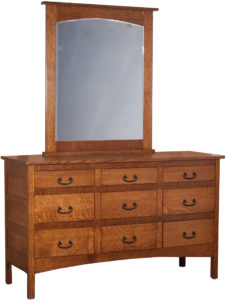 Granny Mission Nine Drawer Dresser