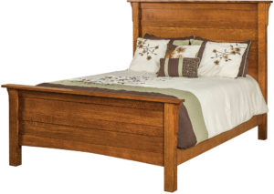 Granny Mission Hardwood Bed
