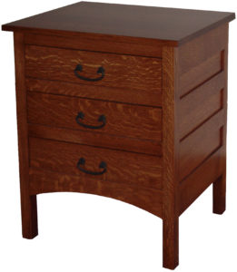 Granny Mission Hardwood Nightstand