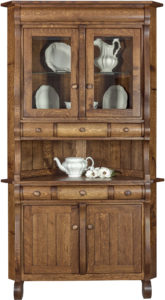 Hampton 2-Door Corner Hutch