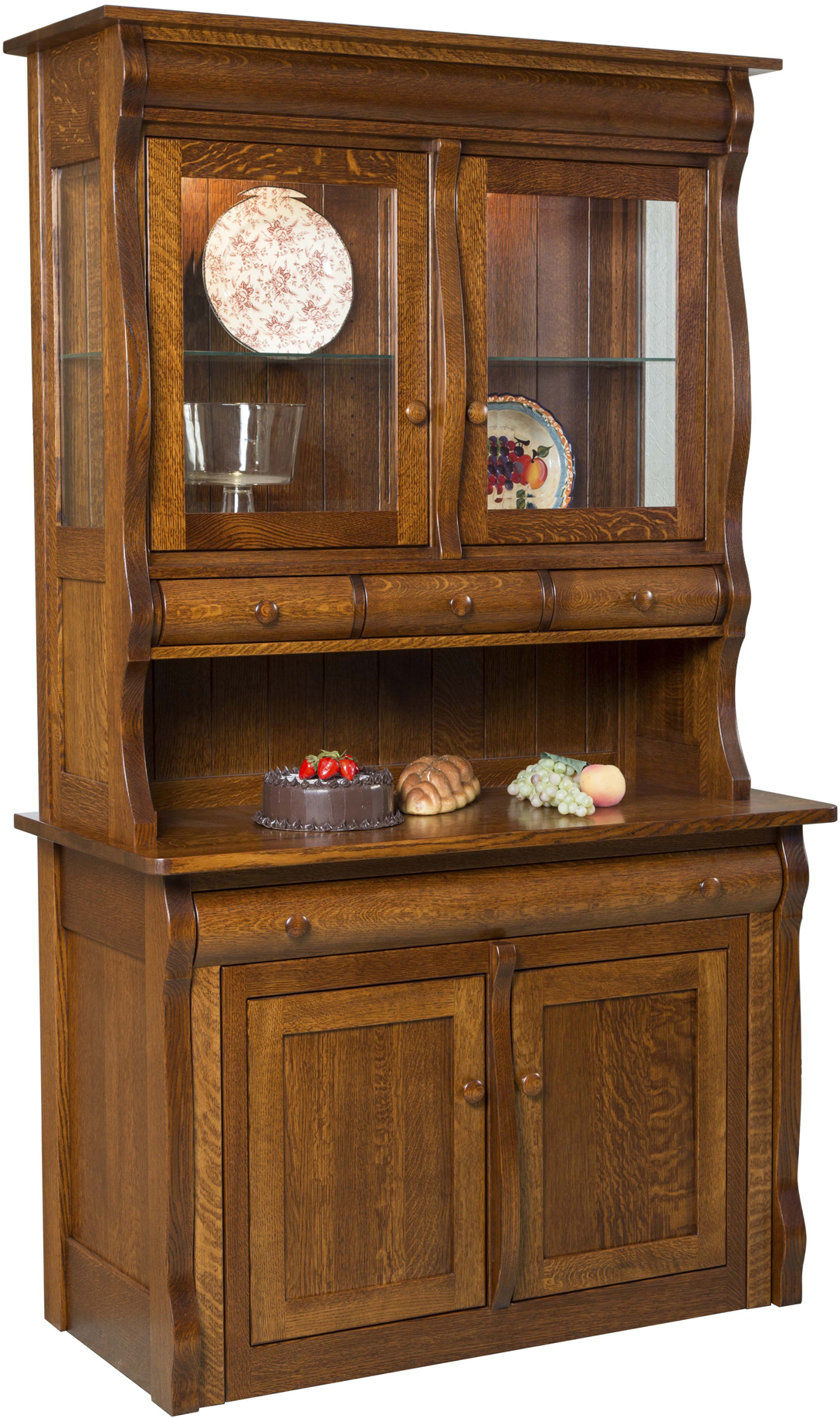 Hampton Frontier 2-Door Hutch