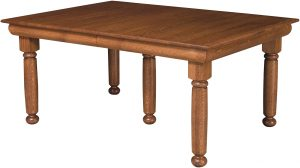 Hampton Leg Dining Room Table