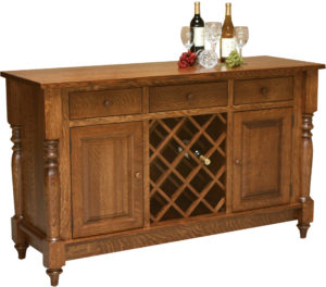 Harvest Wine Rack Buffet