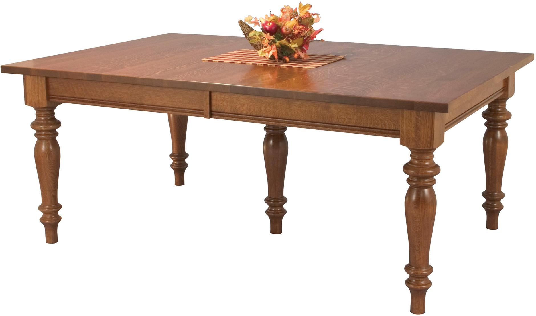 Harvest Dining Table Custom Amish Harvest Leg Dining Table