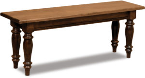 Harvest Wood Trestle Bench