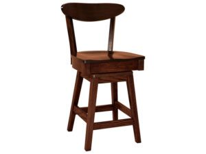 Hawthorn Hardwood Swivel Bar Stool