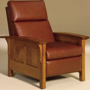 Heartland Panel Hardwood Recliner