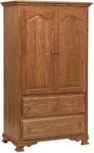 Heritage Hardwood Armoire