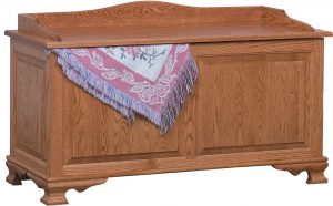 Heritage Wood Blanket Chest