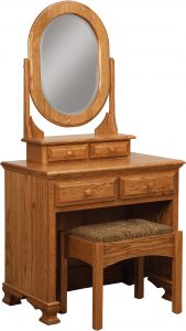 Heritage Dressing Table with Bench