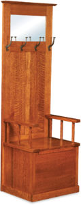 Heritage Mission Wood Hall Seat