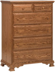 Heritage Six Drawer Chest