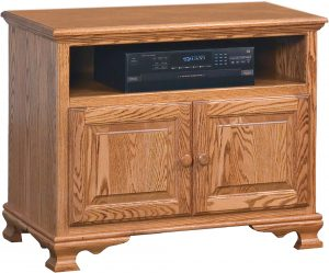 Heritage Small Two Door TV Stand