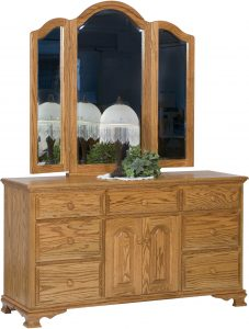 Heritage Wide Dresser with Two Doors