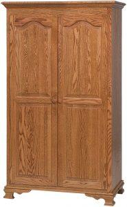 Heritage Hardwood Wardrobe
