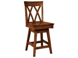Herrington Hardwood Swivel Bar Stool