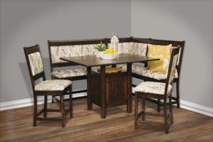 High Country Hardwood Nook Set