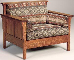 Highback Panel Hardwood Chair