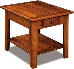 Homestead Rustic End Table