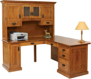 Homestead Corner Desk with Hutch