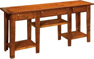 Homestead Deluxe Rustic Sofa Table