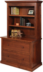 Homestead Lateral File Cabinet with Hutch
