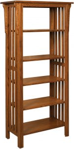 Honeymaze Medium Wood Bookcase