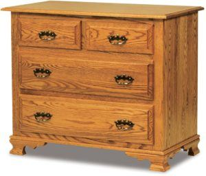 Hoosier Heritage Four Drawer Child's Chest