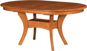Imperial Double Oval Dining Table