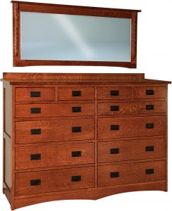 Jacobson 12 Drawer Dresser