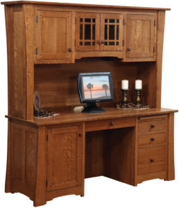 Jamestown Credenza with Hutch