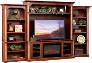 Jefferson Deluxe Entertainment Center