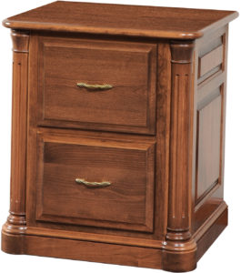 Jefferson Two-Drawer File Cabinet