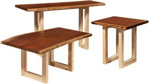 Kalispel Live Edge Occasional Table Set