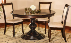 Kingsley Single Pedestal Dining Room Set
