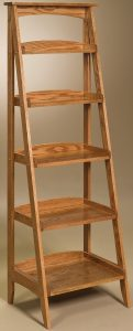 Hardwood Ladder Shelf