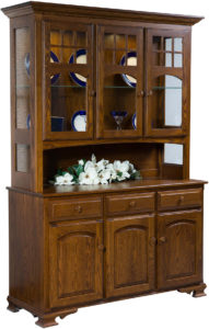 LaGrange Deluxe Hardwood Hutch