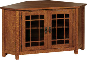 Landmark Amish TV Corner Unit