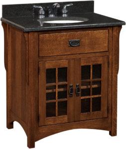 Landmark Single Sink Cabinet